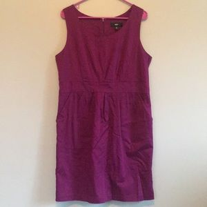 Mossimo Supply Co. Dresses - Mossimo Fitted Purple Dress
